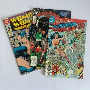 DC Comics Other - Vintage DC Wonder Woman Lof of 3 Comic Books